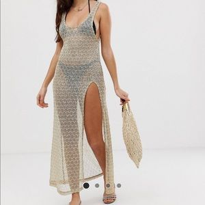 Crochet Knit Swimsuit Cover Up
